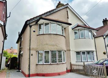 Thumbnail 3 bed semi-detached house for sale in Swanley Road, Welling, Kent