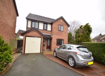 Thumbnail 4 bed detached house for sale in Carlisle Close, Whitefield, Manchester, Lancashire