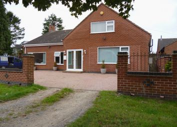 Thumbnail 7 bed bungalow for sale in Eastfield Road, Thurmaston, Leicester