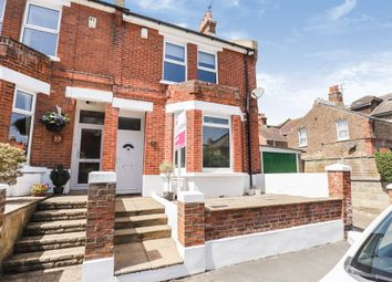 Thumbnail 3 bedroom end terrace house for sale in Parsonage Road, Eastbourne