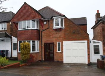 Thumbnail 3 bed detached house for sale in Manor House Lane, Birmingham
