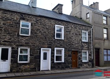 Thumbnail 2 bed terraced house for sale in New Street, Pwllheli