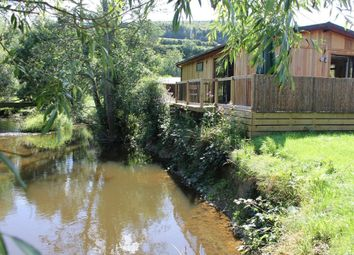 Thumbnail 2 bed lodge for sale in Clunton, Craven Arms
