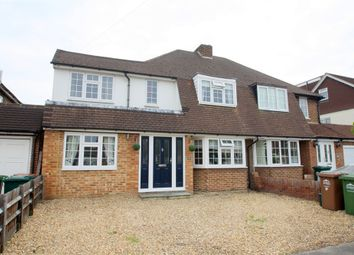 Thumbnail 6 bed semi-detached house for sale in Hurstdene Avenue, Staines-Upon-Thames, Surrey
