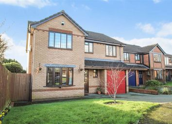 Thumbnail 4 bed detached house for sale in Longueville Drive, Oswestry