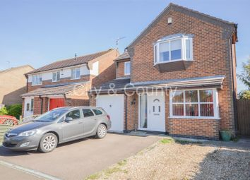 Thumbnail 4 bed detached house for sale in Plough Lane, Newborough, Peterborough
