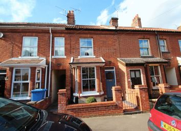 Thumbnail 3 bed terraced house for sale in Highland Road, Norwich