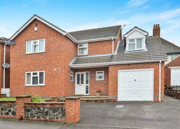 Thumbnail 3 bed detached house for sale in Wood Street, Leabrooks, Alfreton