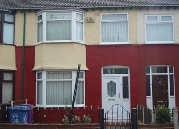 Thumbnail 3 bed terraced house to rent in Suburban Road, Liverpool
