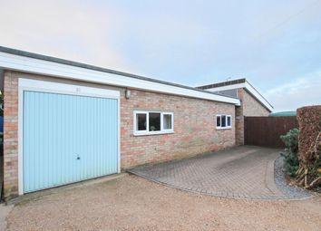 Thumbnail 4 bed detached bungalow for sale in Hillside, Orwell, Royston