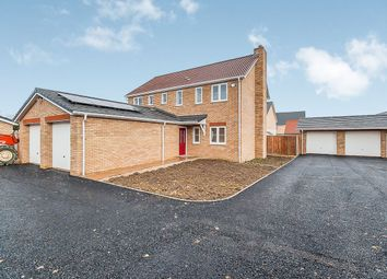 Thumbnail 4 bed detached house for sale in Gidding Road, Sawtry, Huntingdon