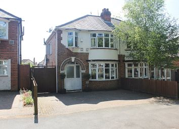 Thumbnail 3 bed semi-detached house for sale in Welford Road, Knighton Fields, Leicester