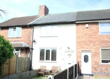 Thumbnail 2 bed terraced house for sale in Pool Close, Pinxton, Nottingham, Derbyshire
