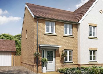 "Thumbnail 2 bed semi-detached house for sale in ""The Barberry"" at New Barn Lane, North Bersted, Bognor Regis"