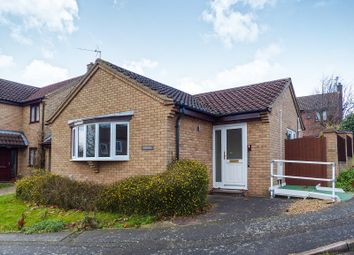 Thumbnail 2 bed detached bungalow for sale in Blenheim Way, Yaxley, Peterborough