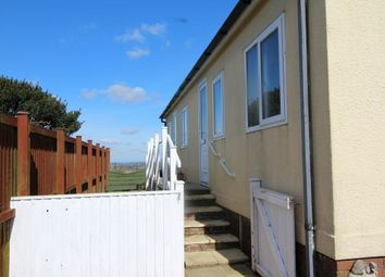 Thumbnail 1 bed bungalow for sale in Resugga Green Residential Homes Park, Resugga Green, St. Austell