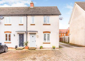 Thumbnail 2 bed end terrace house for sale in Pouncette Close, Amesbury, Salisbury