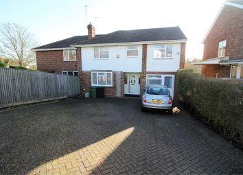 Thumbnail 4 bed semi-detached house for sale in Fairford Road, Tilehurst, Reading, Berkshire