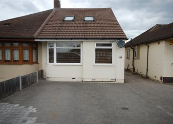 Thumbnail 3 bed semi-detached house for sale in Playfield Avenue, Collier Row, Esesx