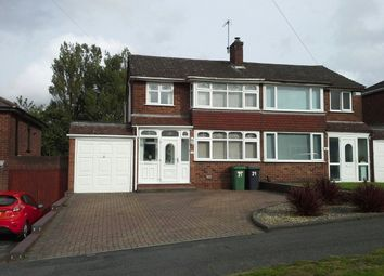 Thumbnail 3 bed semi-detached house to rent in Wendover Road, Ettingshall Park, Wolverhampton