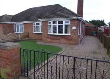 Thumbnail 2 bed semi-detached bungalow for sale in Philip Avenue, Cleethorpes
