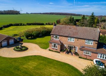 Thumbnail 4 bed detached house for sale in Common Road, Thorpe Salvin, Worksop