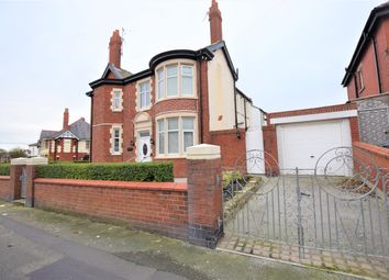 Thumbnail 4 bed semi-detached house for sale in Leamington Road, Blackpool