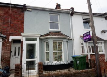 Thumbnail 3 bed terraced house for sale in Northcote Road, Southampton
