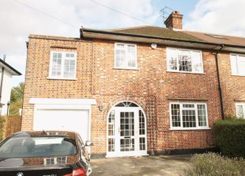 Thumbnail 4 bed semi-detached house to rent in Boundary Road, Pinner