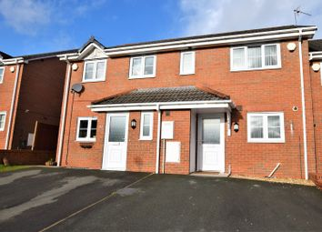 Thumbnail 2 bed terraced house for sale in Broughton Heights, Wrexham