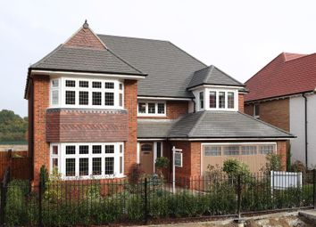Thumbnail 4 bed detached house for sale in Carey Fields, Northampton Lane North, Moulton