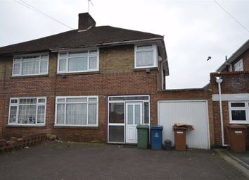 Thumbnail 3 bed semi-detached house for sale in Weston Drive, Stanmore, Middlesex