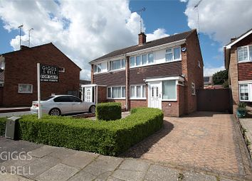 Thumbnail 3 bed semi-detached house for sale in Dalby Close, Luton, Bedfordshire