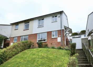 Thumbnail 3 bed semi-detached house for sale in Reddicliff Close, Plymstock, Plymouth