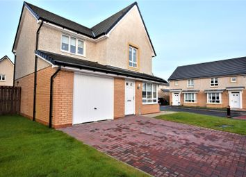 Thumbnail 3 bed detached house for sale in Cook Crescent, Motherwell