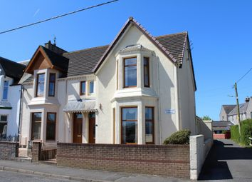 Thumbnail 3 bed end terrace house for sale in 4 Norwood Terrace, Stranraer