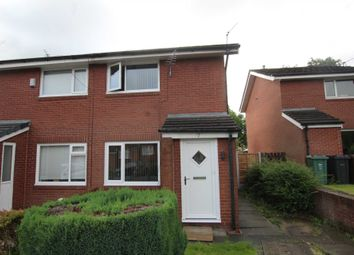 Thumbnail 2 bed semi-detached house to rent in Oak Bank Close, Manchester