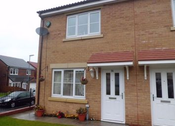 Thumbnail 3 bed end terrace house to rent in Fellway, Glenside View, Chester-Le-Street, Durham