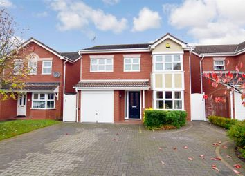 Thumbnail 4 bed detached house for sale in Cassandra Grove, Heathcote, Warwick