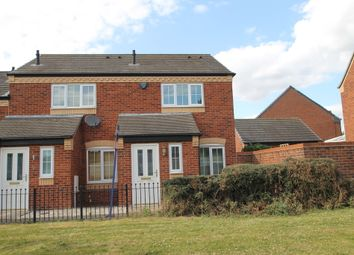 Thumbnail 2 bed end terrace house to rent in Alloys Close, Wilnecote, Tamworth