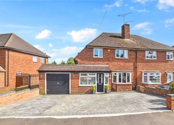 Thumbnail 3 bed semi-detached house for sale in Hall Place Crescent, Bexley, Kent