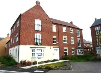 Thumbnail 2 bed flat to rent in Greenfinch Crescent, Witham St. Hughs, Lincoln