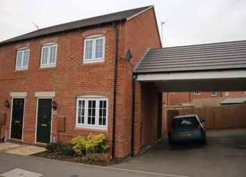 Thumbnail 3 bedroom semi-detached house for sale in Gretton Drive, Anstey