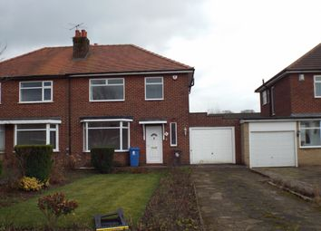 Thumbnail 3 bedroom semi-detached house to rent in Chester Avenue, Chorley