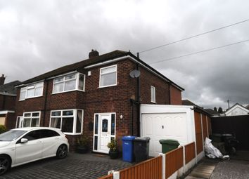 Thumbnail 3 bed semi-detached house to rent in Barnes Avenue, Warrington