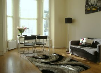 Thumbnail 2 bed flat to rent in Shepherds Bush Road, Brook Green, London
