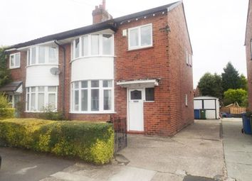Thumbnail 3 bedroom semi-detached house for sale in Cruttenden Road, Great Moor, Stockport, Cheshire
