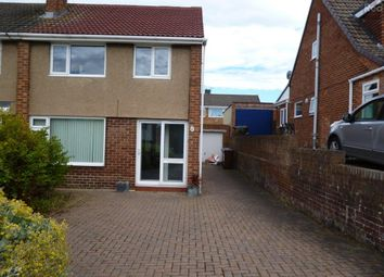 Thumbnail 3 bed semi-detached house to rent in Lambton Drive, Bishop Auckland