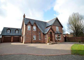 Thumbnail 5 bed detached house for sale in Mere View Gardens, Appleton, Warrington