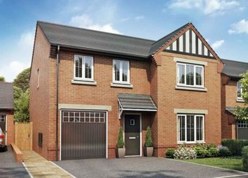 Thumbnail 4 bedroom detached house for sale in Churton Road, Farndon, Chester